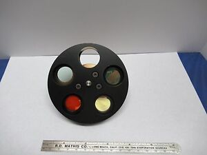 Optical Wyko Interferometer Filter Wheel Very Nice Optics As Pictured 85 34a