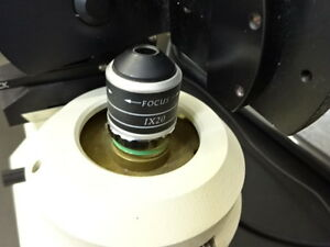 Wyko Interferometer Head With Objective Filter Microscope Part As Pictured Tc 2