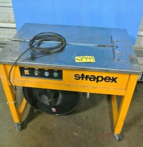 Strapex Strapping banding Machine Semi Automatic Shipping material Handling