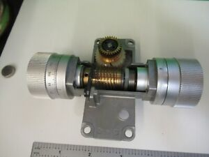 Leitz Dialux Germany Knobs Assembly Microscope Part Optics As Pictured 58 b 20