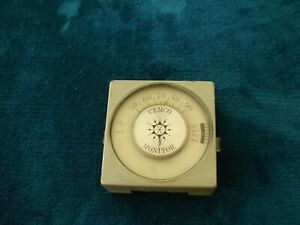 Vintage Cemco Monitor Wall Thermostat Not Tested