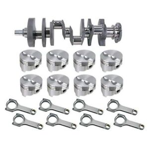 Forged Sb Chevy Rotating Assembly 395 400 Dome 350 Mains 6 Rod