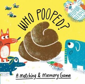 Magma for Laurence King Ser.: Who Pooped? : An Animal Matching Game 2019 Game $10.14