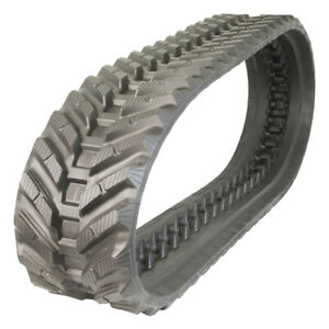 Prowler Rubber Track That Fits A Takeuchi Tl230 2 Ext Snow And Mud Tread