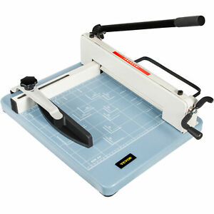 Vevor Heavy Duty Guillotine Paper Cutter 12 Commercial Steel A3 a4 Trimmer