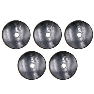 5pcs Lead Sinker Fishing Supplies Fishing Tackle Weights Sinker for Outdoor Gift $17.88