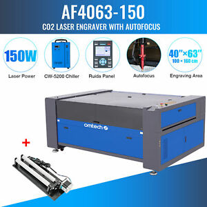 Omtech 150w Co2 Laser Engraver With 40x63 In Bed Rotary Axis A Water Chiller