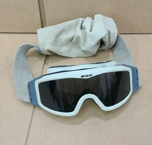 ESS NVG Z87 Profile Goggles Ballistic Military Tactical Light Tan Tinted Lens $15.00