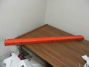 44 Interlake Style Snap Lock Pallet Rack Supports Fits 48 Teardrop Slotted 200