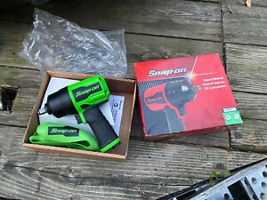 New Snap On Powerful Green Air Powered 1 2 Drive Impact Wrench Gun