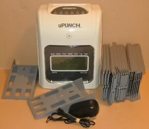 Upunch Time Clock With Wall Mounts