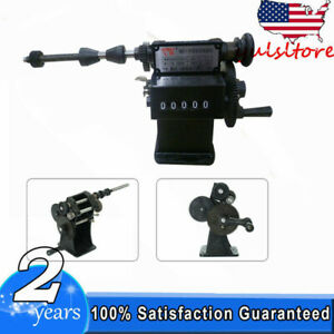 Dual Purpose Manual Coil Winder Machine Counter Hand Coil Winding Tool Black Usa