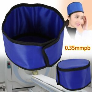 0 35mmpb X ray Inspection Radiation Protection Hat Lead Rubber Head Protective