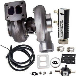 Gt45 Turbocharger T4 V Band Hardware 600 Hp Boost Turbo Boost Controller