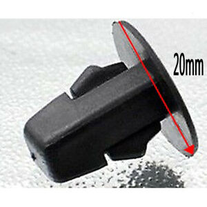 50pcs Car Fender Liner Clip Screw Grommets Fit For Toyota Camry Tundra Tacoma Fits 2010 Toyota Corolla