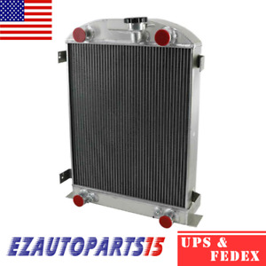 4row Racing Radiator For 1930 1931 1932 Ford Model A Ford Flat Head V8