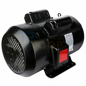 Air Compressor Electric Motor Single Phase 7 5 Hp 4 Pole 1750 Rpm 215t Frame
