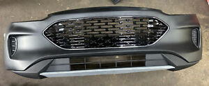 Fits 2020 2021 Ford Escape Front Bumper Cover Upper Lower Set Complete