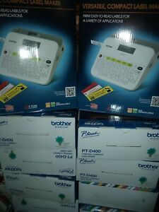 Brother Bonus Deal Pt d400 Label Maker Free Extra Tape Brand New In The Box