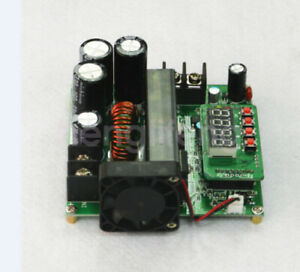 New 900w Dc dc Boost Converter 8 60v To 10 120v 15a Step Up Power Supply Module