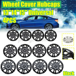 13 14 15 4pcs Hubcaps For Car Accessories Wheel Covers Replacement