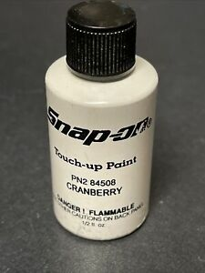 1 2 Fl Oz Touch Up Paint Snap On Tool Box Cranberry Red Pn 2 84508 R4