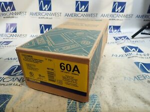 New In Box Square D D322nrb 60 Amp 240 Volt 3r Fusible Outdoor Disconnect
