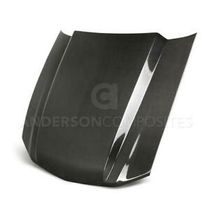 Type Cj Carbon Fiber Cowl Hood For 2013 2014 Ford Mustang