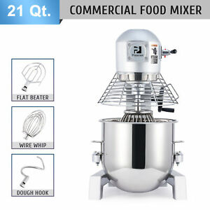 3 Speed Food Stand Mixer 21 Quart Commercial Food Mixer Pro Kitchen Accessory