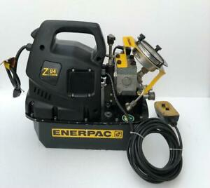 Enerpac Zu4204bb Electric Power Pack For Hydraulic Torque Wrench 700 Bar 115v