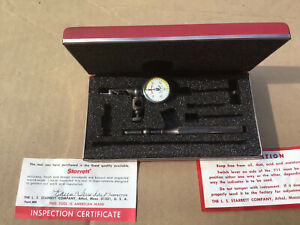 Starret last Word Dial Indicator Excellent Condition