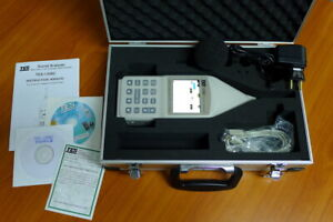 Sound Analyzer Tes 1358c Sound Level Meter Real Time 1 1 1 3 Octave Bands
