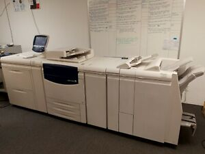 Xerox 700i Digital Color Press With Tower Fiery Tray 6 7 and C Z Fold