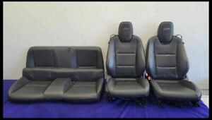 2010 2015 Chevrolet Camaro Ss Front Rear Back Coupe Seats Seat Bucket Good Bags