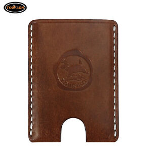 Tourbon Leather Business Card Holder Id Name Cards Organizer Wallet xmas Gift
