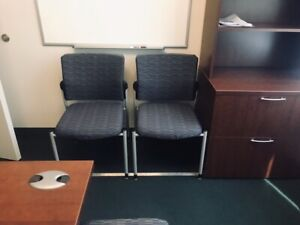 Used Paoli Office Furniture Sit To Stand Desk Set Pick Up Only