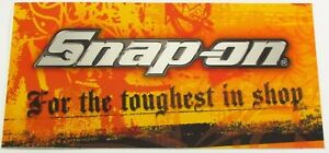 Snap On Tools Sticker Decal For The Toughest In Shop Tool Box Fridge Window