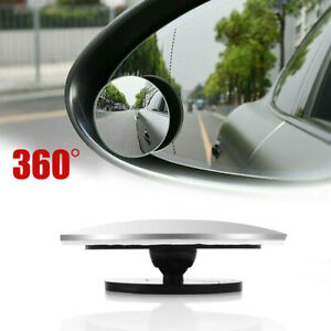 1pcs Blind Spot Mirror 360wide Angle Convex Rear Side View Car Auto Universal