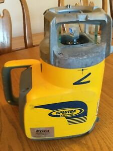 Spectra Precision Gl622 Infrared Dual Grade Laser Level Not Working