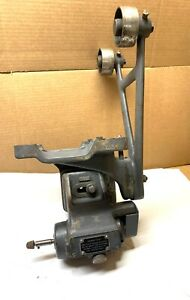 Brown Sharpe No 447 Lathe Spindle Fixture Adjusting Wheel Attachment Nice