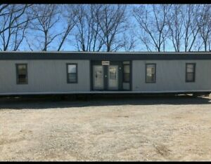 Office Trailer 4 Bed Or 4 Office Room For Sale 24 x56 With Entry Steps 45 000