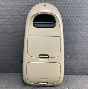 1999 2003 Ford F150 Over Head Overhead Roof Console Digital Display Tan