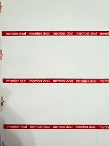 membersdeal Label Retail Store Price Stickers Tags Labels 50 Sheets