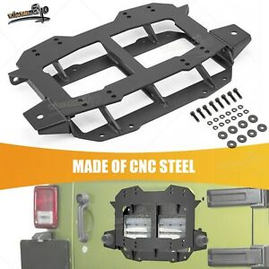 No Drilling Spare Tire Carrier Relocation Bracket Fit 2018 2021 Jeep Wrangler Jl