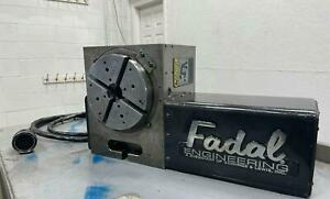 Fadal Vh65 Programmable 4th Axis Rotary Table Cnc 4020 6030 8030