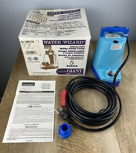 Little Giant Water Wizard 5 msp 5 Series Submersible 1 6 Utility Sump Pump 115v