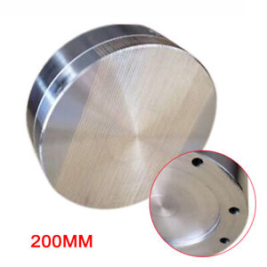 Round Permanent Magnetic Chuck Fine Pole Magnetic Chuck 2 X 7 9 stainless Steel