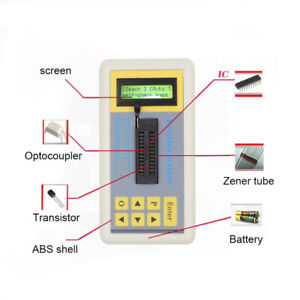 Integrated Circuit Tester Ic Tester Transistor Tester Online Maintenance Ic Test
