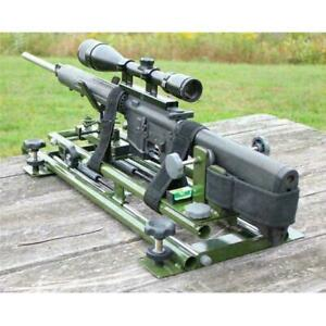 Precision Rifle Shooting and Sighting Bench Rest Dual Damper Not For Beginners $215.00