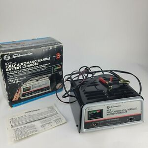 Schumacher Battery Charger Se 520 Ma Manual Or Fully Automatic 10amp 2amp